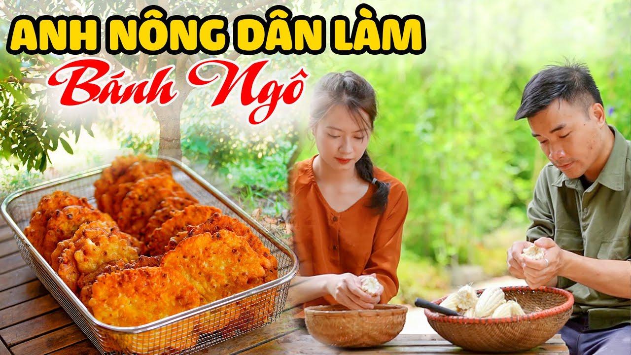 Download Anh Nông Dân Cùng Cô Láng Giềng Làm Món Bánh Ngô | Corn Cake