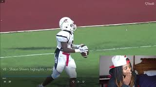 AUBURN TIGERS COMMIT ! THE 5 FOOT 5 BEAST RUNNING BACK !! Shaun Shivers Highlights (Reaction Video)