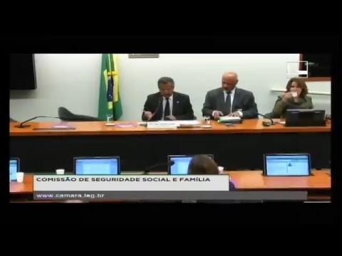 SEGURIDADE SOCIAL E FAMÍLIA - Reunião Deliberativa - 19/04/2017 - 10:11