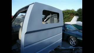 Nissan Terrano Pick-up Conversion