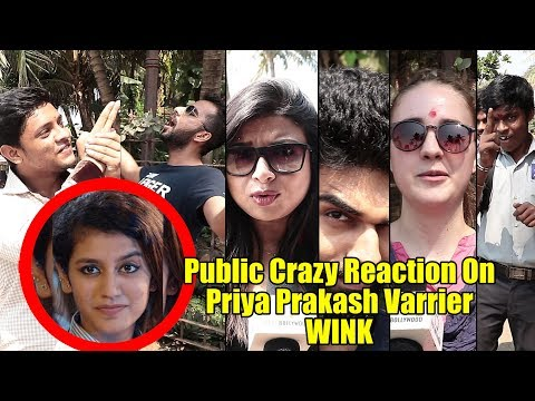 Public Reaction On Priya Prakash Varrier | Funny Reaction | Oru Adaar Love