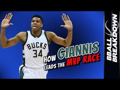 How GIANNIS Leads The MVP RACE