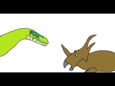 BRS3 Styracosaurus Vs Baryonyx (100 Subs Special) (Season 3 Finale)
