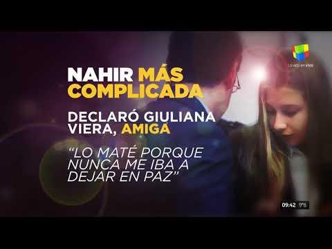 Nahir Galarza: Si no lo mataba no me iba a dejar en paz