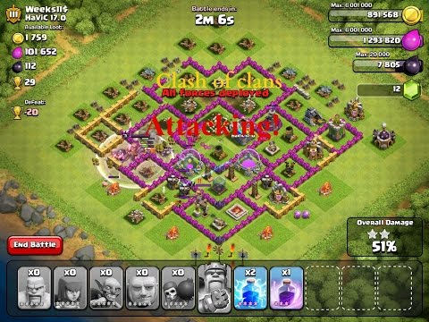 Clash Of Clans Smart Attacking