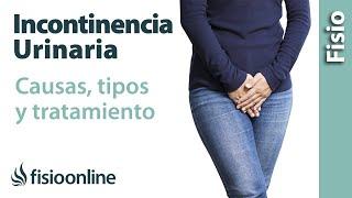 Incontinencia urinaria - Qué es, causas, tipos de incontinencia y cómo tratarlas