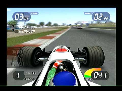 Formula One 2001 (PlayStation 2) Malaysian GP - BAR Honda