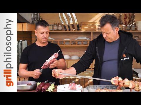Pork Spit-roast Kontosouvli - Two Grilling Ways | Grill Philosophy