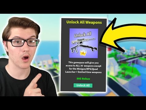 *NEW* UNLOCK ALL WEAPONS GAMEPASS UPDATE IN STRUCID! (ROBLOX)