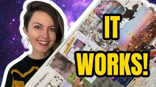 How to make a 2021 VISION BOARD that WORKS! | Plus my 2020 vision board LOA SUCCESS stories