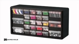 Drawer Plastic Parts Storage Hardware and Craft Cabinet,