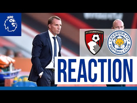 'That Was Not Acceptable' - Brendan Rodgers | Bournemouth 4 Leicester City 1