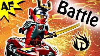 samurai x vs snappa spinjitzu spinner battle lego ninjago stop motion set review 9566 9564