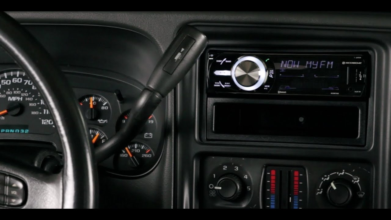 Basic Installation Of An Aftermarket Stereo Into A Gm Vehicle Youtube 1999 Tahoe Cd Player Wiring Diagram