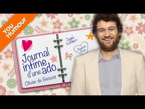 OLIVIER DE BENOIST - Journal intime d'un ado