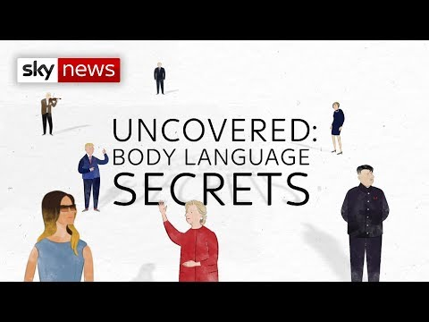 Uncovered: The body language secrets of the key figures of 2017