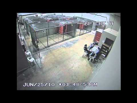 Police CCTV Footage of G20 Detention Center for the public record Part 3/6