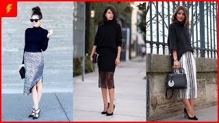 How to Wear Black Turtleneck