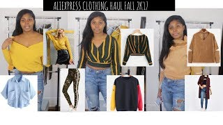 ALIEXPRESS Clothing Haul + TRY ON|FALL 2017|IG Model Edition| $7 and UP!