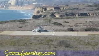 US Marine Military Helicopter Chopper Camp Pendleton Army Video