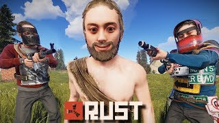 STUCK in The Middle of a WAR ZONE! | Rust Zombies #4