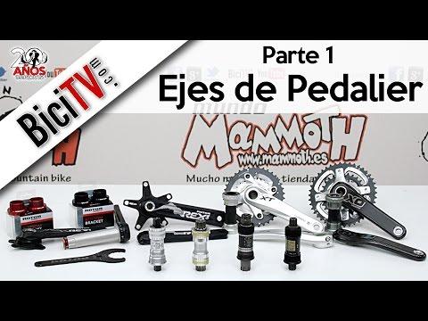 Tipos De Ejes De Pedalier Para Bicicleta 1 2 Youtube