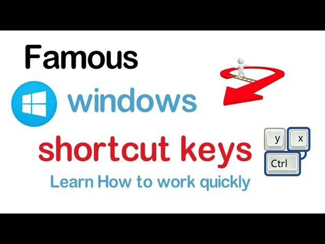 Windows Shortcut Keys | Learn How to work quickly