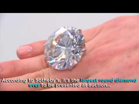 Massive 110-carat diamond on display in Los Angeles | ABC7