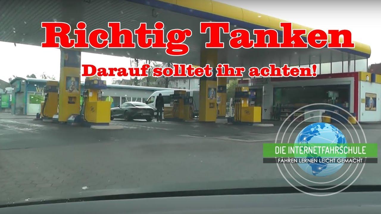 Tanken Mit Karte Gewinner.Tanken Teil 1 Das Erste Mal Selber Tanken Tankstelle Fahrstunde Führerschein