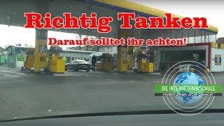 Tanken Teil 1 - Das erste mal selber Tanken - Tankstelle - Fahrstunde - Führerschein