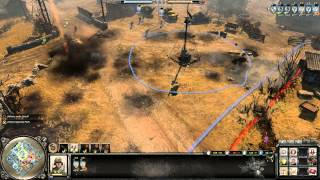 Company of Heroes 2 Gameplay: Ugh Snipers Again | 2v2 on Moscow Outskirts