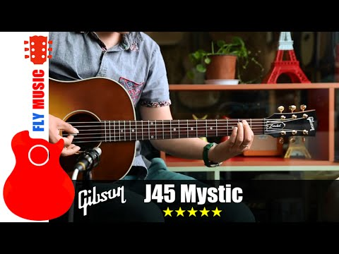 gibson j45 mystic rosewood guitars review youtube. Black Bedroom Furniture Sets. Home Design Ideas