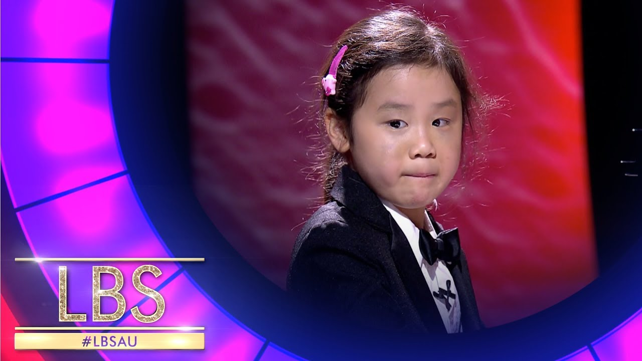 Anke The Amazing 6 Year Old Piano Virtuoso | Little Big Shots Australia