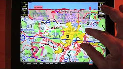 Sky Map Moving Map - Erklärung und Bedienung