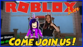 PLAYING ROBLOX MM2, MAD CITY AND MORE ! - JOIN US ! - TIA PLAYS GAMES - #320