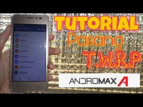 Cara Pasang TWRP & ROOT Andromax A Tanpa PC