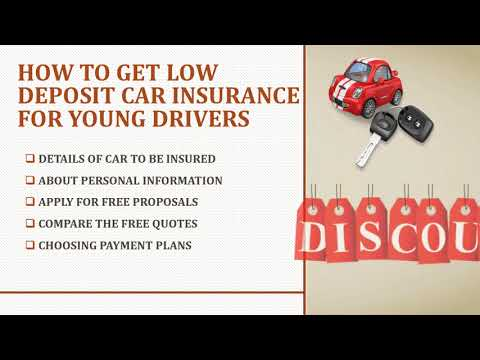 How To Help Low Deposit Car Insurance Pay Monthly Quotes To Save Money