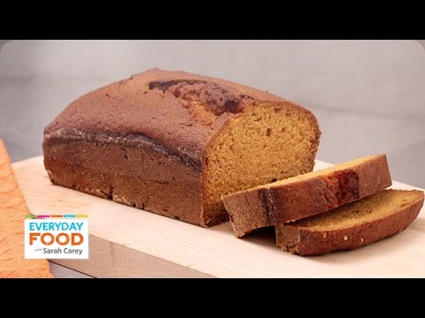 Golden ginger pumpkin bread everyday food with sarah carey youtube golden ginger pumpkin bread everyday food with sarah carey forumfinder Choice Image
