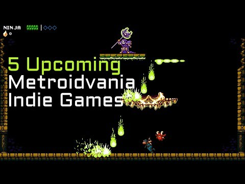 Top 5 Upcoming Castlevania Inspired / Metroidvania Indie Games in 2018 - Part 3