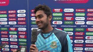 We have a good opportunity in the tournament - Mehidy Hasan - Bangladesh - Press Conference