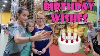 Granting Wishes for Her Birthday 🎂 (WK 347.3) | Bratayley