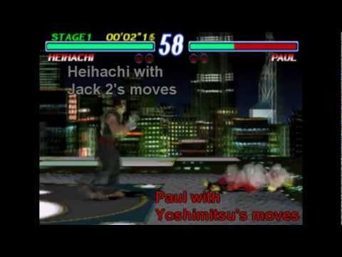 Trading Movesets in Tekken 2