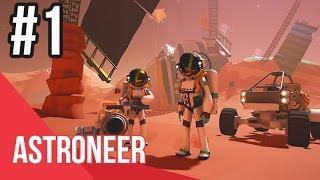 ASTRONEER - Phần 1: Hướng dẫn game SINH TỒN giống Minecraft