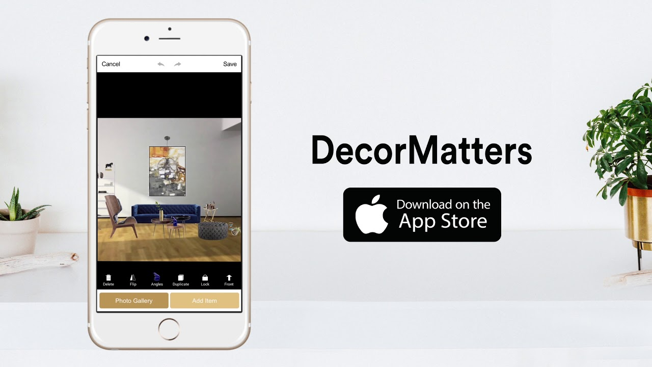 Decor Matters - Design your home in Augmented Reality - YouTube