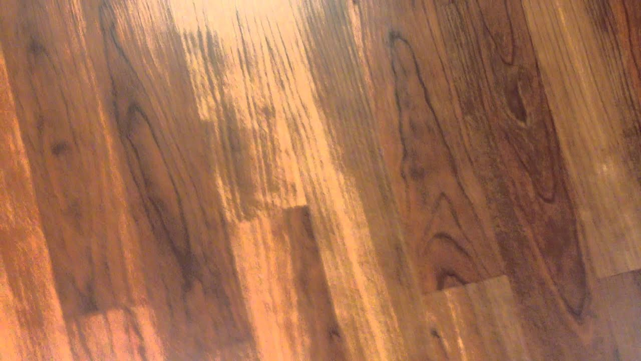 Squeaking Laminate Floor