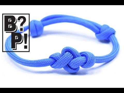 How to Make the Eternity Knot Bracelet - Bored?Paracord!