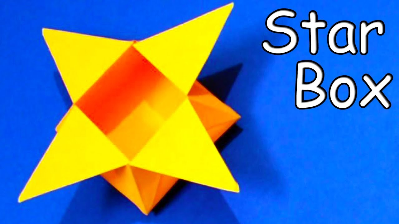 How to Make a Traditional Origami Star Box | 720x1280