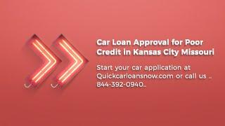 Car Loans For Poor Credit People in Kansas City, Missouri. Poor Credit Car Dealerships KC