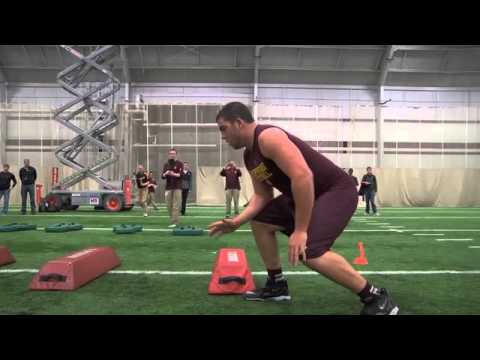 Eric Fisher Pro Day Highlights
