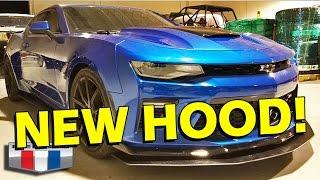 2016/2017 Camaro Hood Upgrade - 6LE Designs Skorpion
